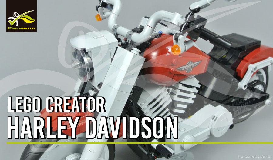 Nueva Harley-Davidson Fat Boy LEGO.