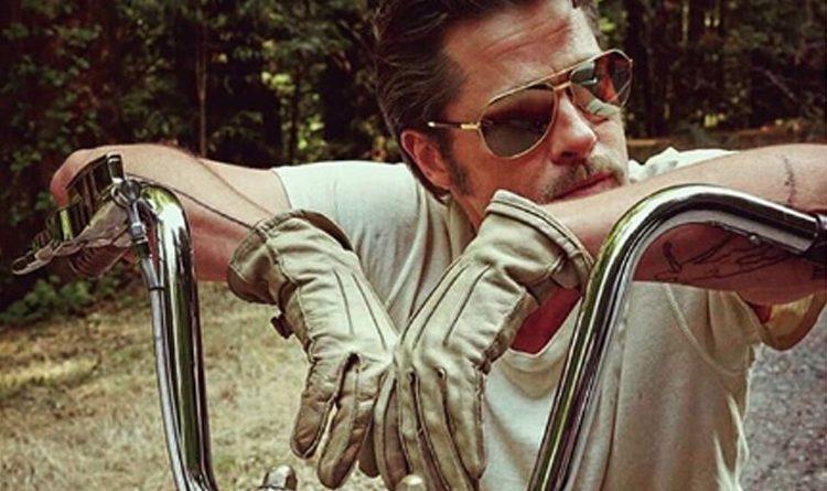 Brad Pitt es un enamorado de las motos, ¡son más de 20!