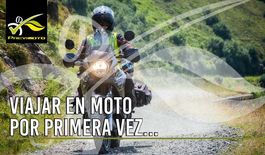 Recomendaciones para tu primera vez viajando en Moto