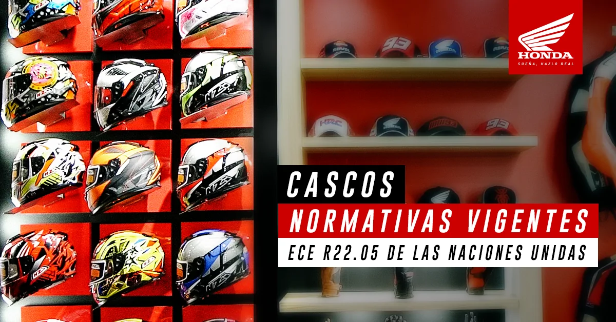 Nueva normativa colombiana de cascos para motos