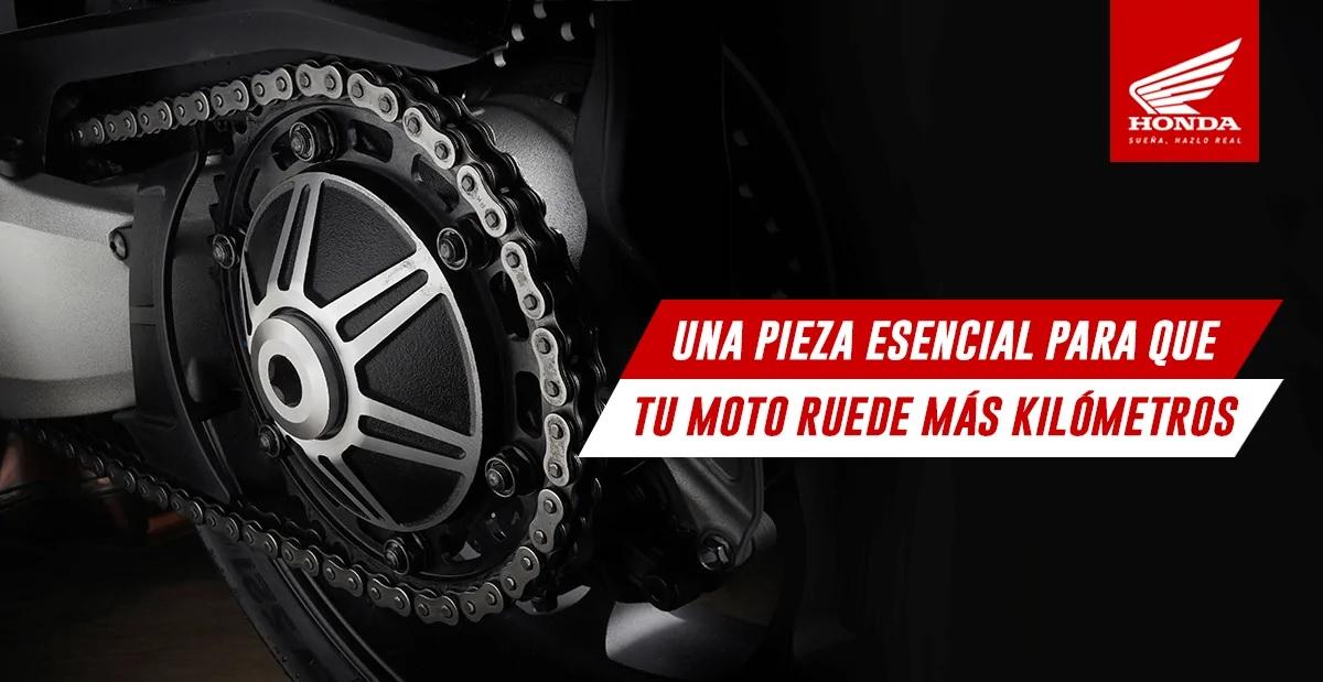 Aquí te contamos todo sobre la cadena de tu moto