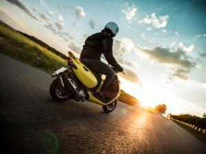 Comportamiento de un motociclista ejemplar
