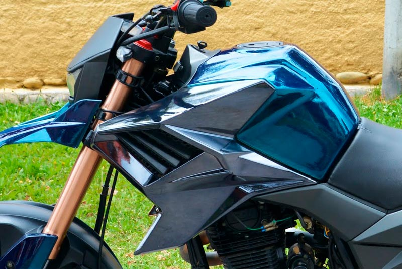 ¿Cambiar el color de la moto? ¿Hasta dónde se puede hacer sin problemas?
