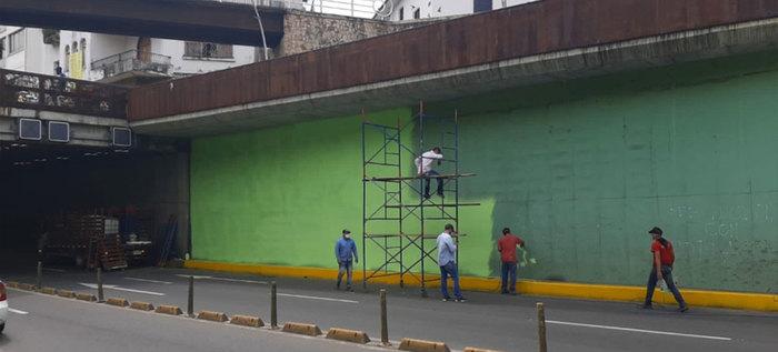 Túnel Mundialista estará cerrado la noche del martes por obras de mantenimiento